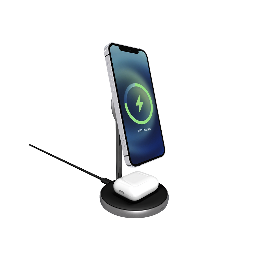 2IN1 MAGNETIC WIRELESS CHARGER